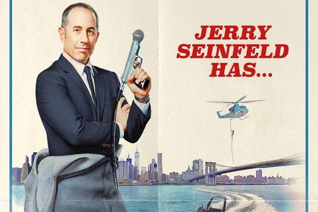 afis Jerry Seinfeld 23 hours de taiat frunze la caini