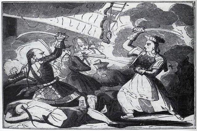 desen femeia pirat Ching Shih